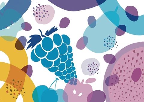 Fruit visual design