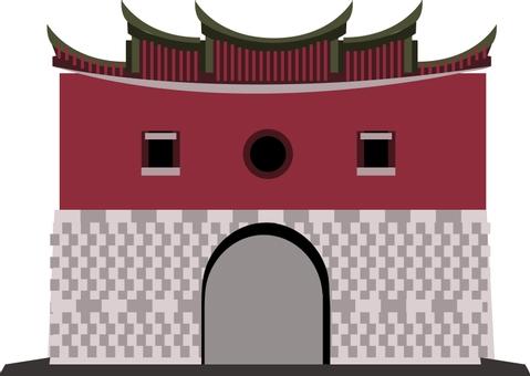 Taiwan North Gate-Cheng'en Gate