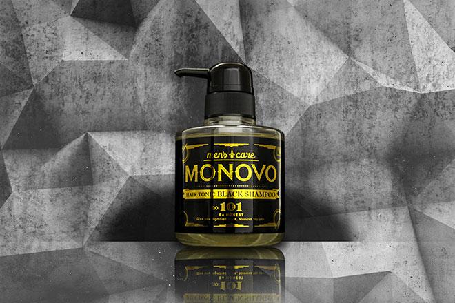 「MONOVO ヘアトニックブラックシャンプー」の効果・成分・購入方法や使い方を解説 アイキャッチ画像