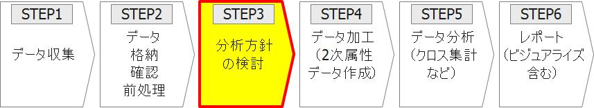 STEP3 分析方針の検討