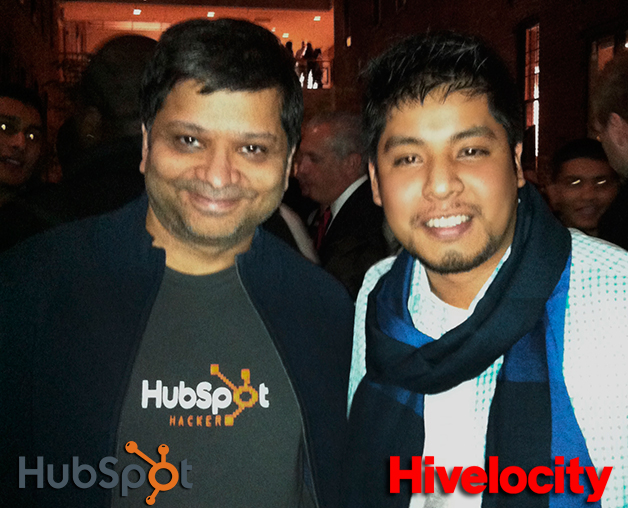 at Hubspot with the man