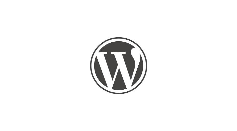 The WordPress logo with a white background