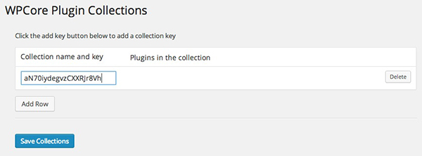 Add your key to import your collection