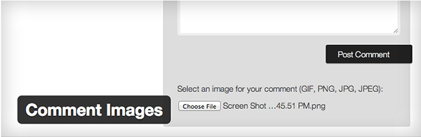 A simple plugin that allows users to upload images