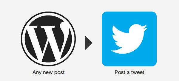 WordPress to Twitter recipe