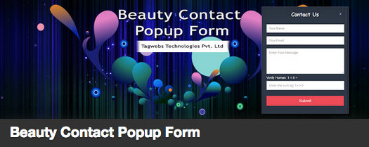 The Contact Form Plugin