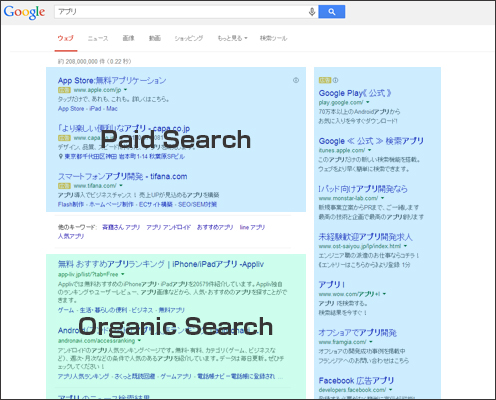 Paid Search Organic Search