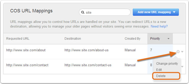 hubspot-delete-url-mapping