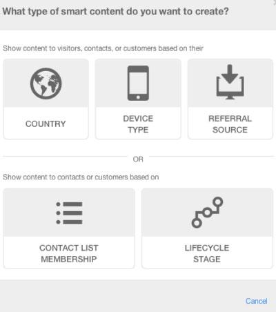hubspot-smartcontent
