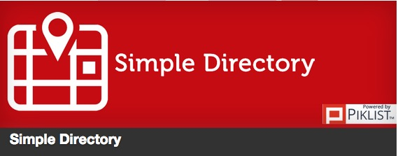 The Simple Directory plugin thumbnail
