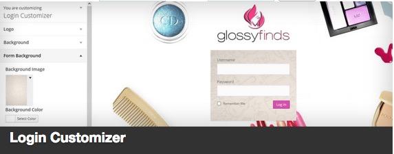 Login Customizer Plugin banner