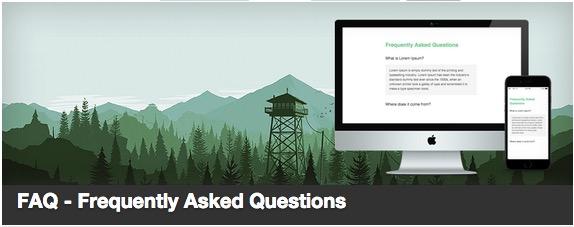 FAQ plugin thumbnail