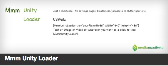 Mmm Unity Loader plugin thumbnail