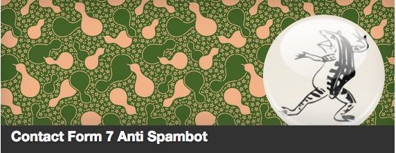 Contact Form 7 Anti Spambot plugin thumbnail