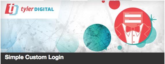 Simple Custom Login plugin thumbnail