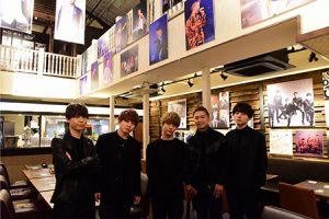 Da-iCE、5周年イヤー第1弾シングルに合わせ大阪に期間限定コラボカフェオープン!サプライズで5人が訪店!!
