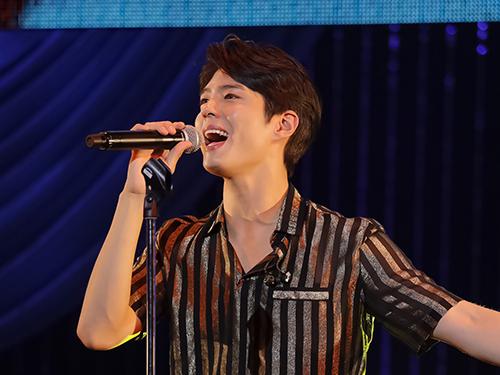 韓流トップスターのパク・ボゴム、日本デビューシングル発売記念イベント開催!「心はいつでもそばにいます」とメッセージ!!