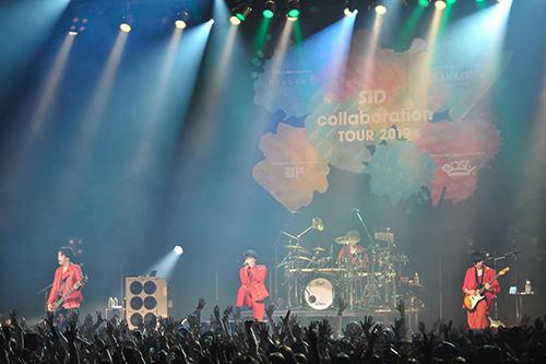 """【ライヴレポ】シド、『SID collaboration TOUR 2019』3本目は""""白SID vs 赤シド""""!「お前らがかかってこねぇとこのシド二度と来ねぇからな!」"""