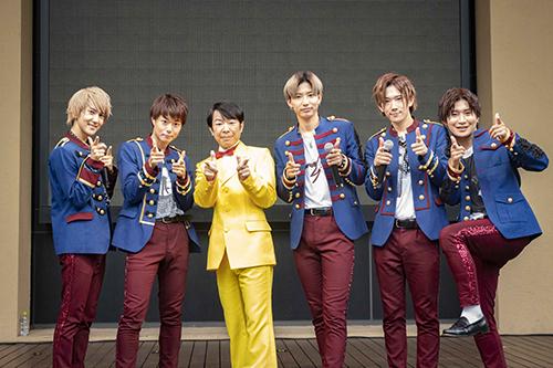 CUBERS、シングル「妄想ロマンス」発売記念イベントに、ダンディ坂野がサプライズ乱入!500人のファンとゲッツダンス!!