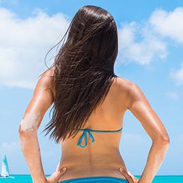 背中の医療脱毛の回数と効果
