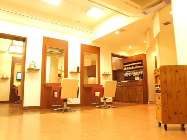 ヘアーデザイン チャンテ CANTE 南浦和店の店舗画像2