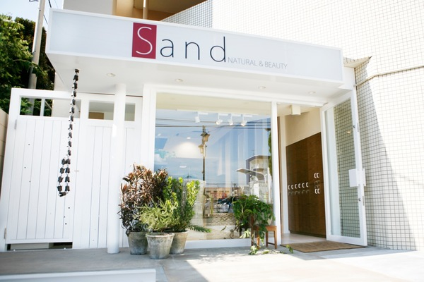 sand NATURAL&BEAUTYの店舗画像0