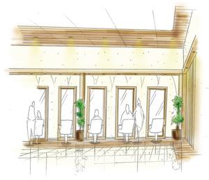 ファミリーヘアサロンデューポイント オークワ中津川店の店舗画像1