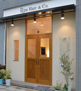 Rire Hair & Co. リールヘアーアンドカンパニーの店舗画像2