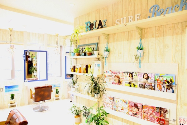 NaTur HAIR&GARDENの店舗画像3
