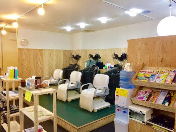 オーガニックカラー&艶髪専門店 染屋麻生店の店舗画像2