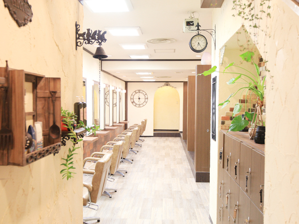 Raise hair design の店舗画像0