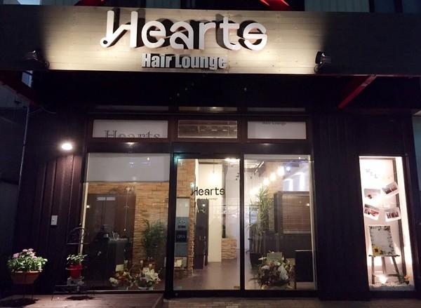 Hearts HairLounge (ハーツヘアラウンジ)の店舗画像1
