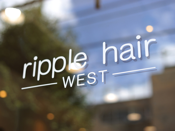 ripplehair westの店舗画像0