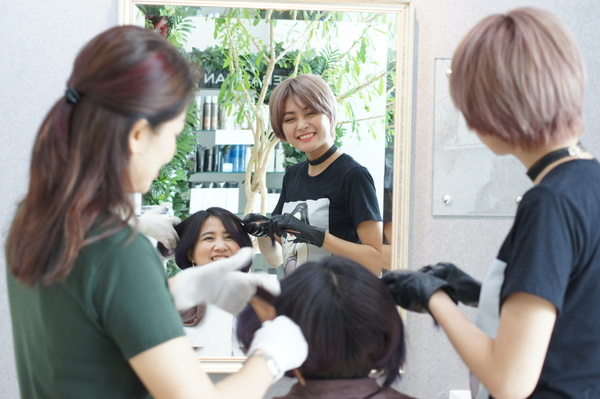 LUSRICA HAIR SALON の店舗画像1