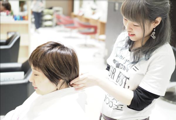 俱楽部HAIR'S 桂坂店の店舗画像2
