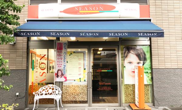 ヘアサロンシーズンヴィナシス金町店の店舗画像0