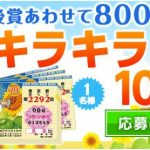 【応募受付開始!】夏・キラキラくじ100枚(連番50枚、バラ50枚)