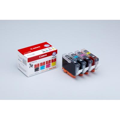 CANON インクタンク BCI-7e 4色パック 純正/1018B001 ×2