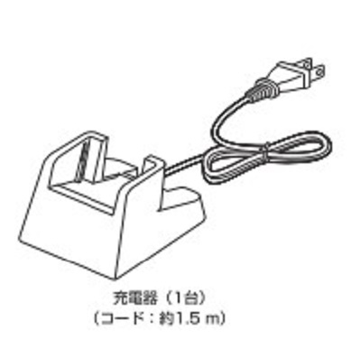 NTT α-NXデジタルコードレス用充電器 A1-DCL-充電器-(1)