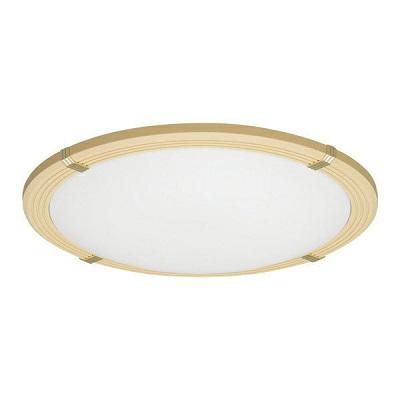 LEDシーリングライト 8畳調色木枠 3800lm(ブラウン)