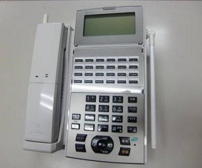 NTTビジネスホン αNXⅡ カールコードレス電話機