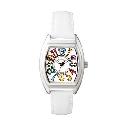 エンジェルハート レディース腕時計 ホワイトステッチ