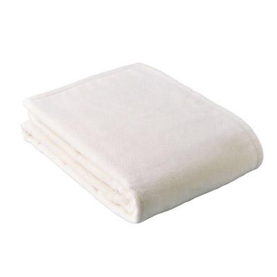 西川リビング シルク入り綿毛布