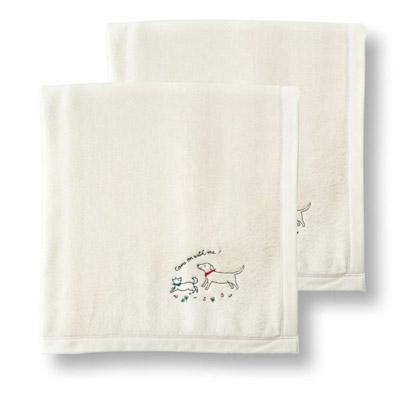 西川リビング シルク毛布2枚セット