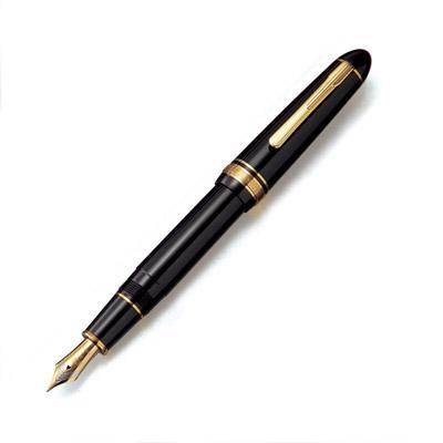 プラチナ プレジデント 万年筆 ブラック