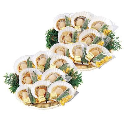 北海道産ホタテバター焼きセット