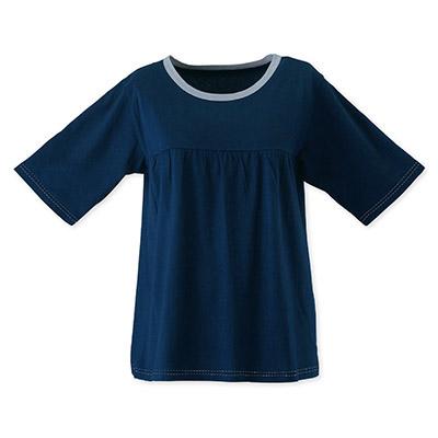 西川リビング 婦人ルームTシャツ