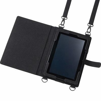 ショルダーベルト付き12.5型タブレットPCケース