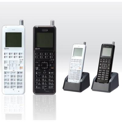 αA1-コードレス電話機セット(黒)