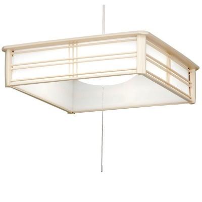 アイリスオーヤマ 和風ペンダントライト 6畳調光 昼光色 PLC6D-J